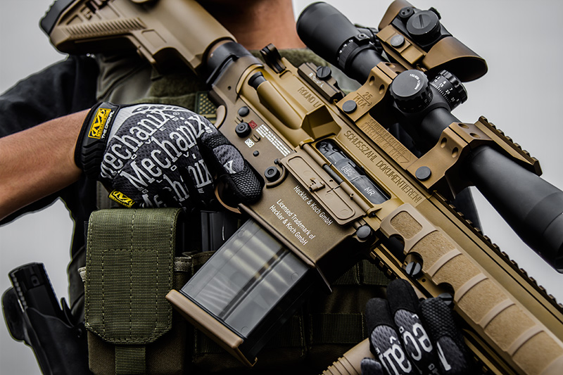 Elite Force HK G28 DMR AEG Spotlight