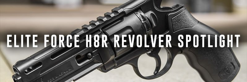 Elite Force H8R Revolver Spotlight