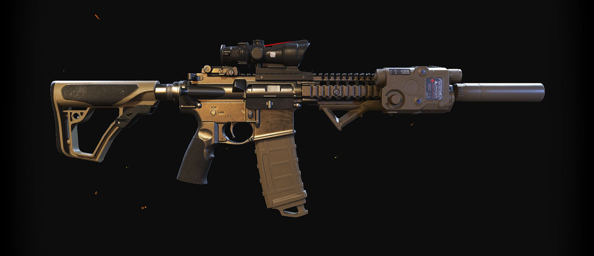 MK18 rifle from Ghost Recon Wildlands