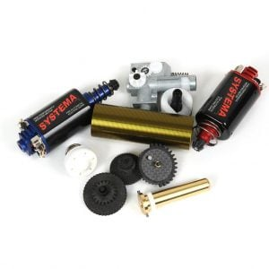 Upgrade parts are everywhere. Do you have the ones you need. Check Airsoftgi.com for all your upgrade necessities.