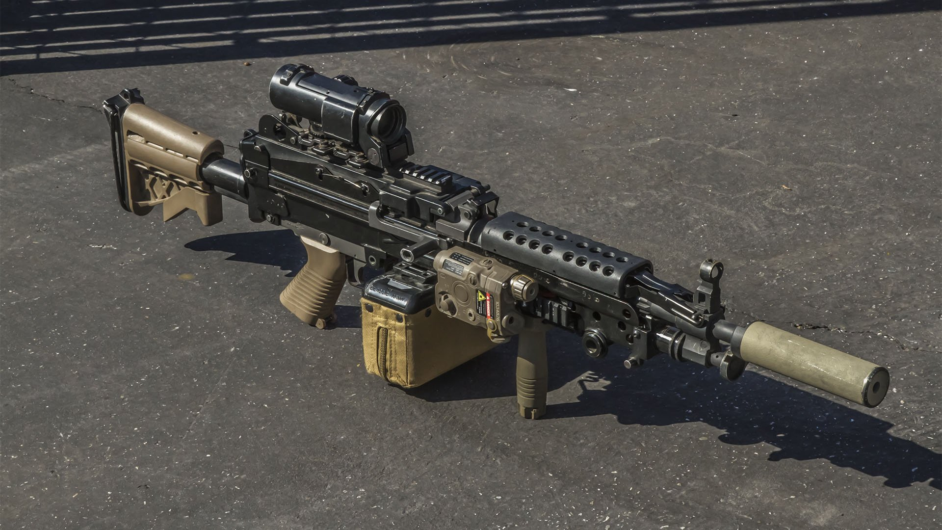 Our Tech Taylor's M249 by Classic Army
