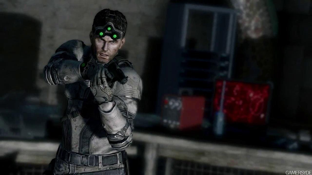 Sam Fisher displaying Center Axis Re Lock in the game Splinter Cell: Blackout