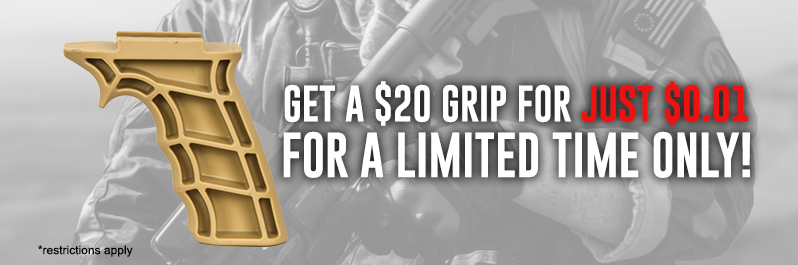 Get Your Airsoft Guns a Grip for 1 Penny