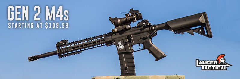 Lancer Tactical Gen 2 M4s, On Sale Now