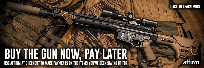 Make Payments on the Airsoft Guns You Want with Affirm at Checkout