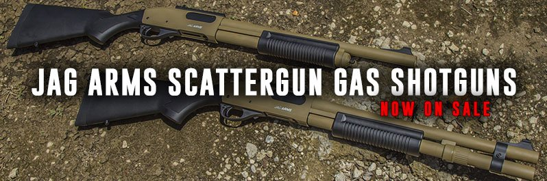 Jag Arms Scattergun Gas Shotgun Airsoft Guns