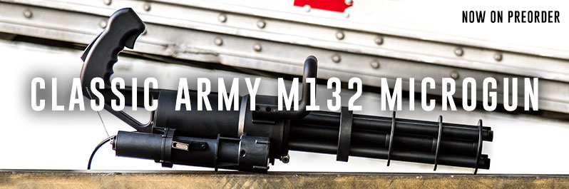 Classic Army M132 Microgun now on preorder