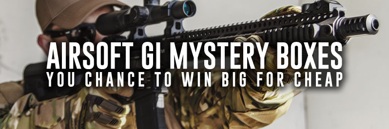 Airsoft GI Mystery Boxes, your chance to win big!