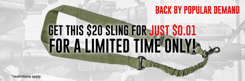 Get Your Airsoft Guns a Sling for 1 Penny