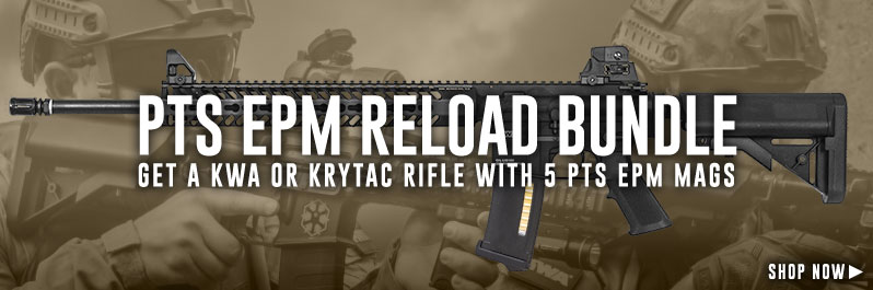 Save on Krytac, KWA, and E&L airsoft guns with our exclusive bundle deals