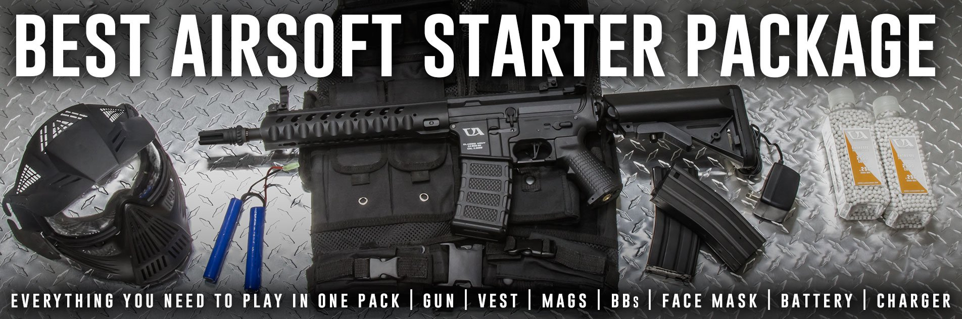 Best Airsoft Starter Package