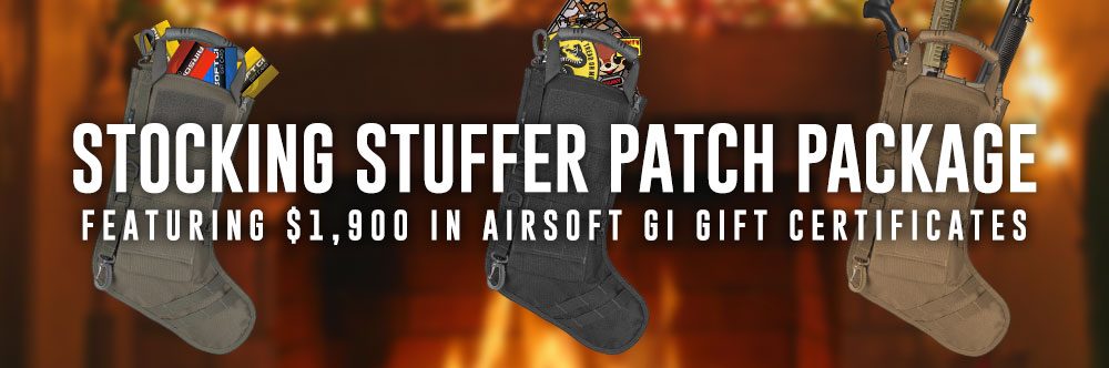 Stocking Stuffer Patch Package