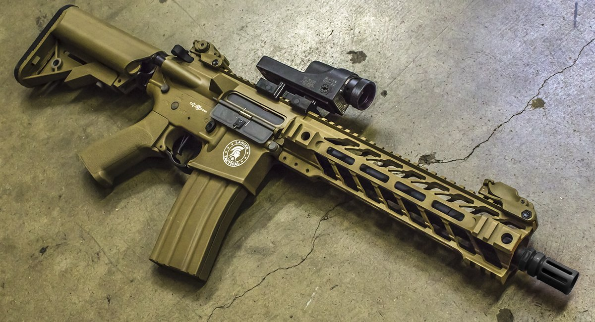 Lancer Tactical Gen 2 Proline Battlehawk Tan