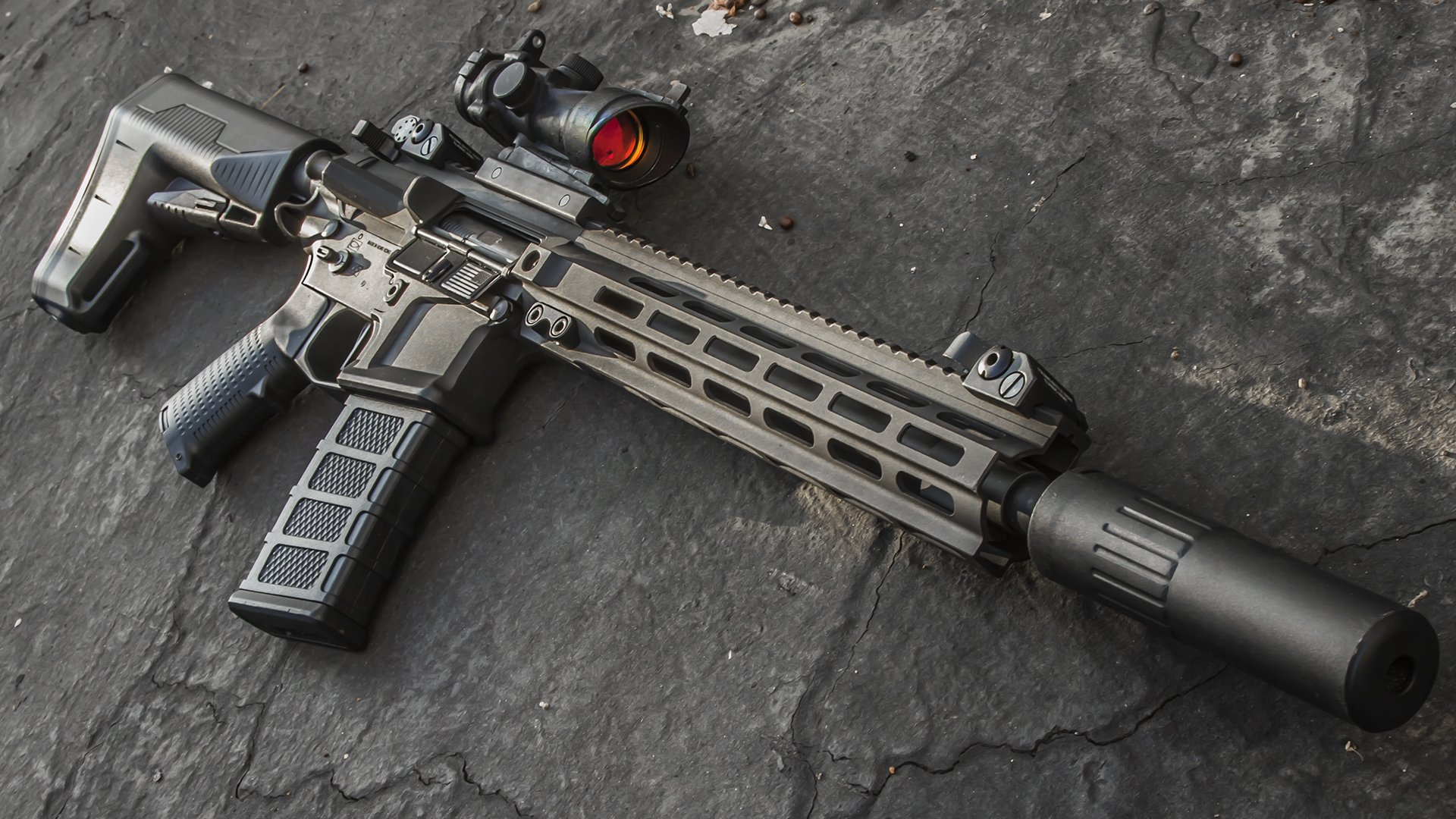 Classic Army Nemesis LS12 BAS Stock