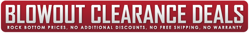 Airsoft GI Blowout Clearance Deals