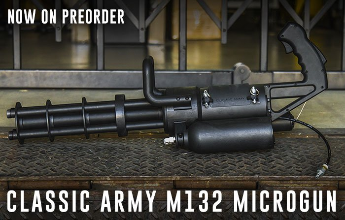 CA M132 Microgun now on preorder