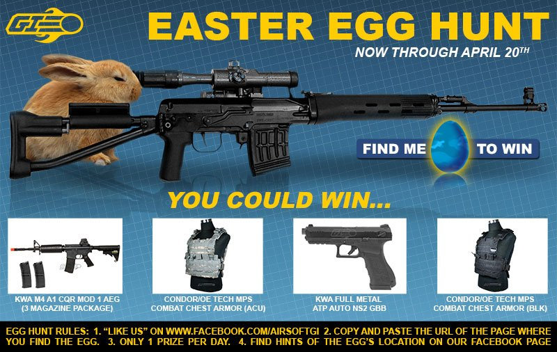 Airsoft GI Easter Egg Hunt