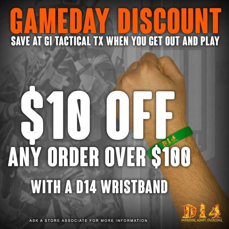 gameday discount