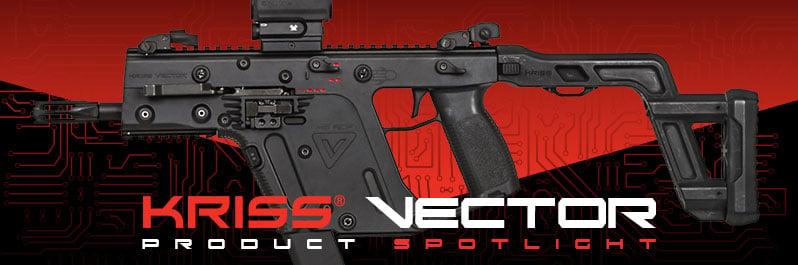 Krytac Kriss Vector SMG AEG Airsoft Gun Spotlight
