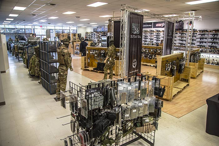 Tactical clothing store