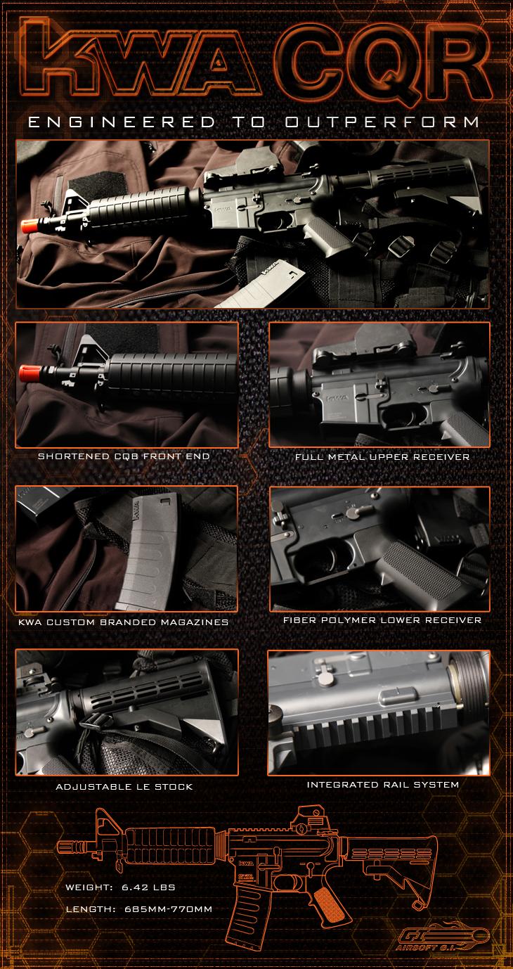 KWA M4 CQR Series