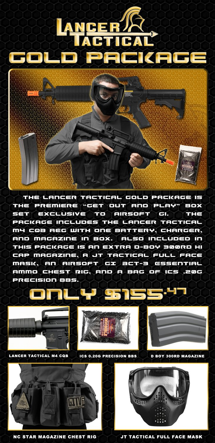 Lancer Tactical Gold