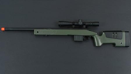 ARES M40A5 USMC Sniper Rifle Pototype | Airsoft GI TV BlogAirsoft GI TV Blog