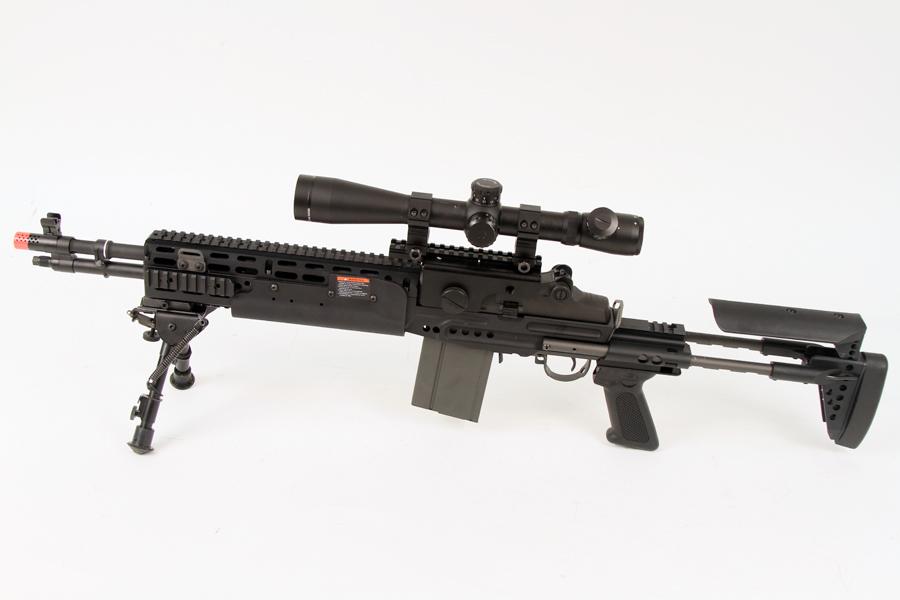 Semi Auto Sniper Rifle | Airsoft GI TV Blog M14 Ebr Sniper Rifle