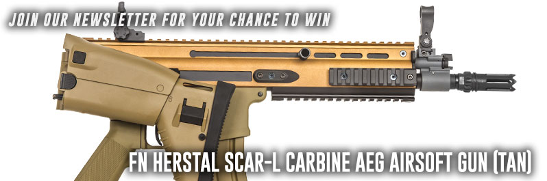 Enter For A Chance To Win a Free Gun When You Signup To Our Newsletter