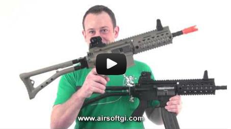 Airsoft GI - G&G GR4 100y Blowback M4 Close Quarters Combat Airsoft