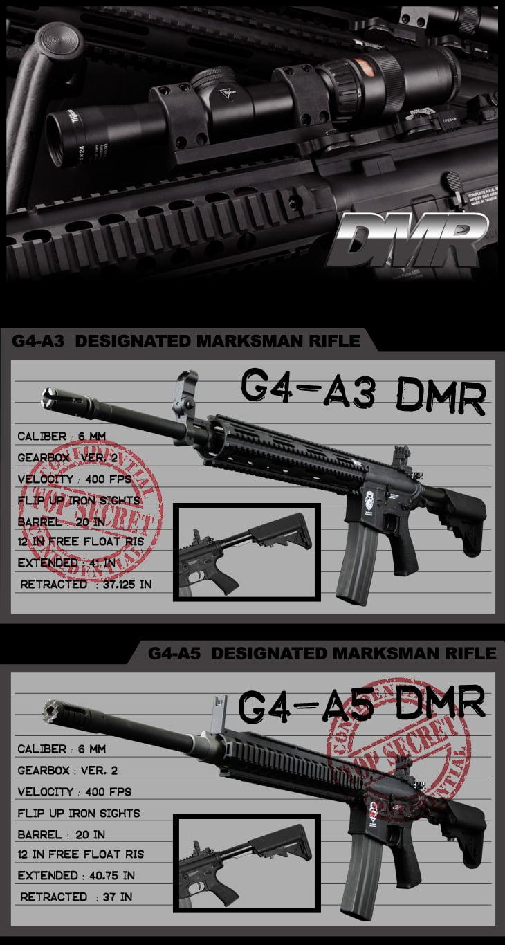 Airsoft GI G4 DMR Series