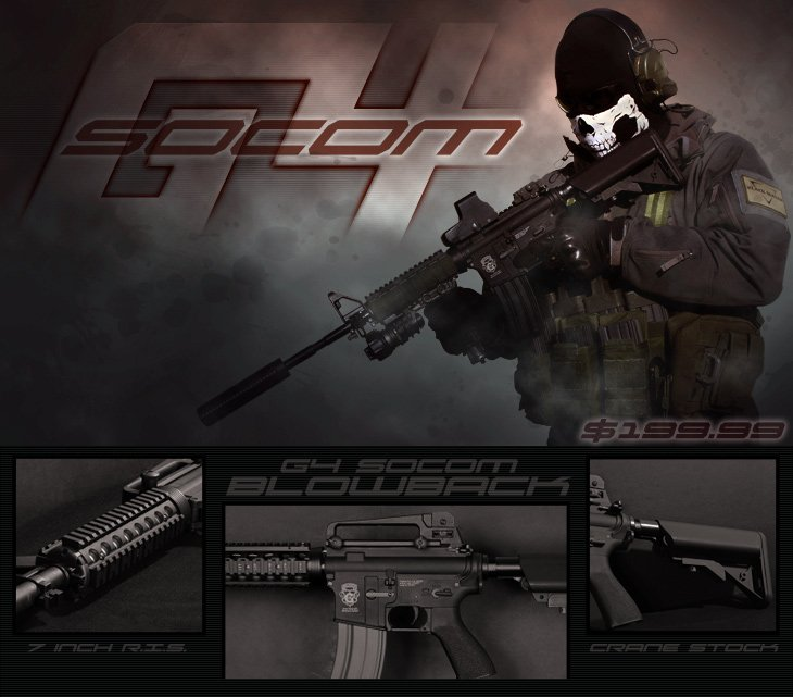 Airsoft GI G4 Socom
