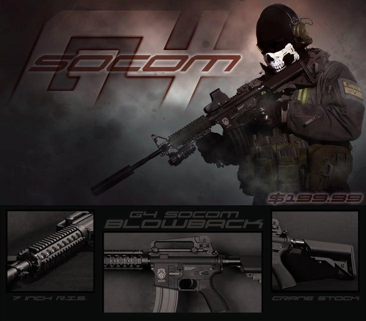 Airsoft GI G4 Socom