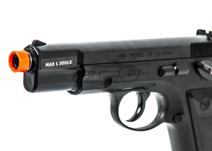 ASG CZ75 Shell Ejecting Gas Airsoft Pistol by Marushin (Black)