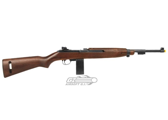 Metal Real Wood 6mm M1 Carbine CO2 Powered Semi Automatic Airsoft Gun