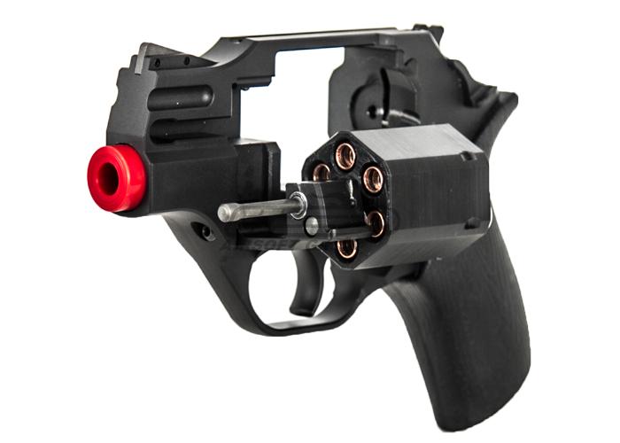 Iron Airsoft CNC Aluminum Rhino Revolver Airsoft Pistol