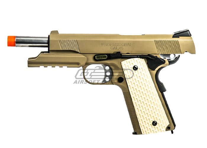 SOCOM Gear M1911 Airsoft Gun ( Desert Combat Elite ) by: SOCOM Gear
