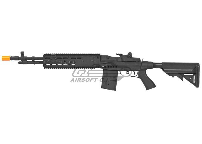 CYMA CM032EBR M14 EBR Sniper Rifle AEG Airsoft Gun ( Black ) M14 Ebr Airsoft
