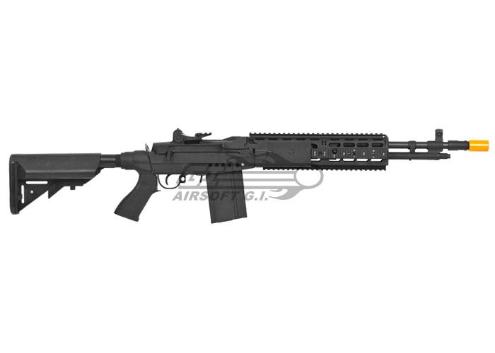 CYMA CM032EBR M14 EBR Sniper Rifle AEG Airsoft Gun ( Black ) M14 Ebr Rifle