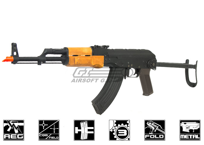 CM048S Full Metal/Real Wood AKS-47 AEG Airsoft Gun