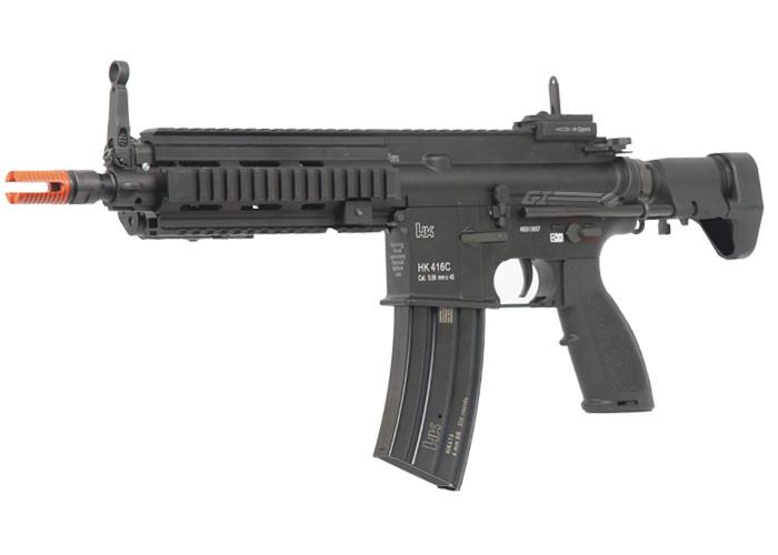 elite force h k 416c carbine aeg airsoft gun by vfc black. Black Bedroom Furniture Sets. Home Design Ideas