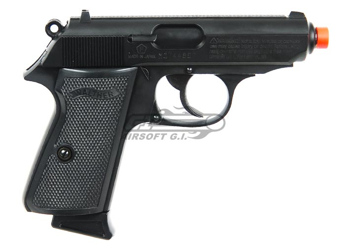 * Discontinued * Elite Force Walther PPK/S Gas Airsoft Pistol by Maruzen