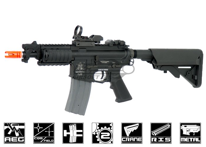 AIRSOFT_VFC_M4DEF_A e series m4es defender carbine aeg airsoft gun ( black )  at n-0.co