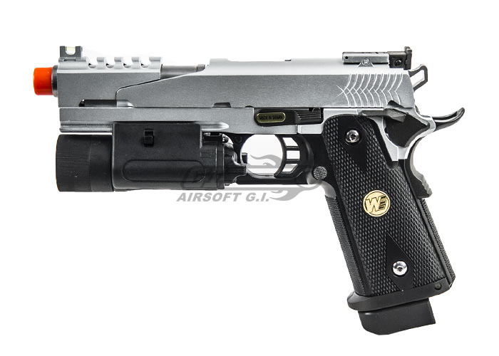 We Silver Dragon 5 1 B 1911 Hi Capa Gbb Airsoft Pistol