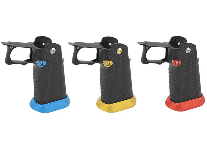 Airsoft Masterpiece Aluminum Grip For Hi-Capa Airsoft Pistols (Choose an  Option/Type 1)