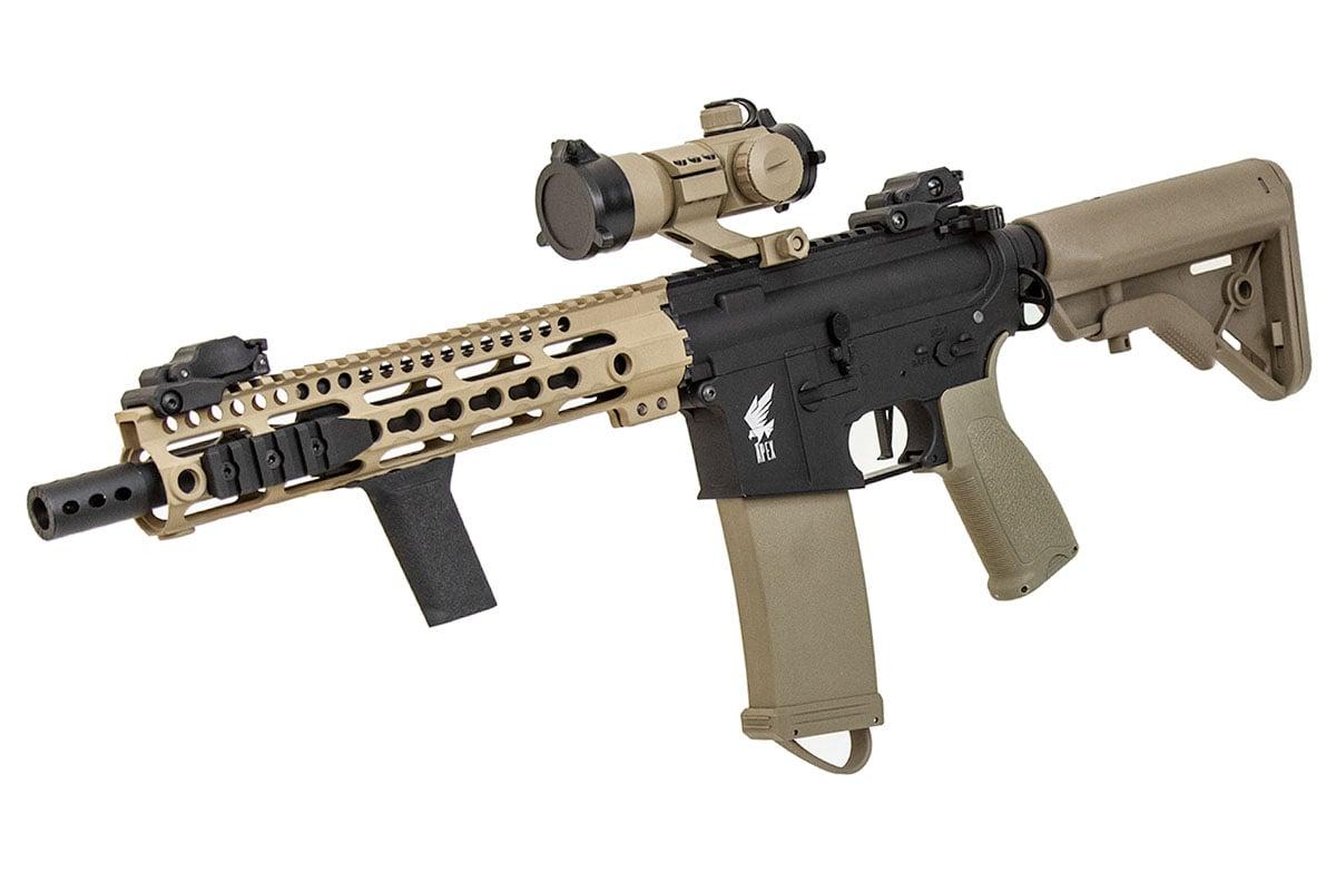 Airsoft GI Custom Desert NiteFire SBR M4 AEG Airsoft Rifle