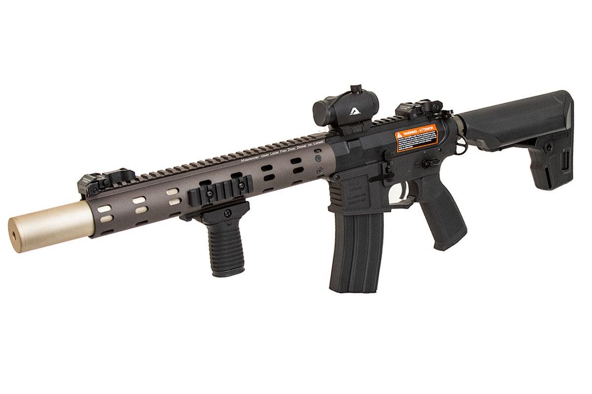 Airsoft GI Custom Desert Coyote M4 AEG Airsoft Rifle