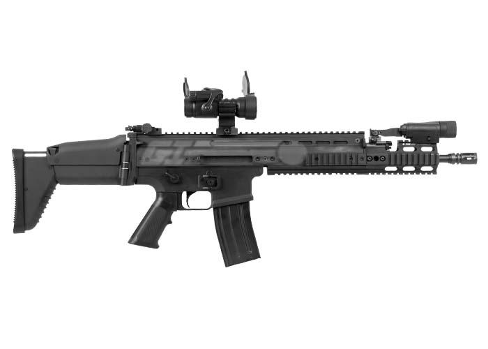 GI Custom Dark Knight MK16 SCAR DMR Airsoft Gun AEG