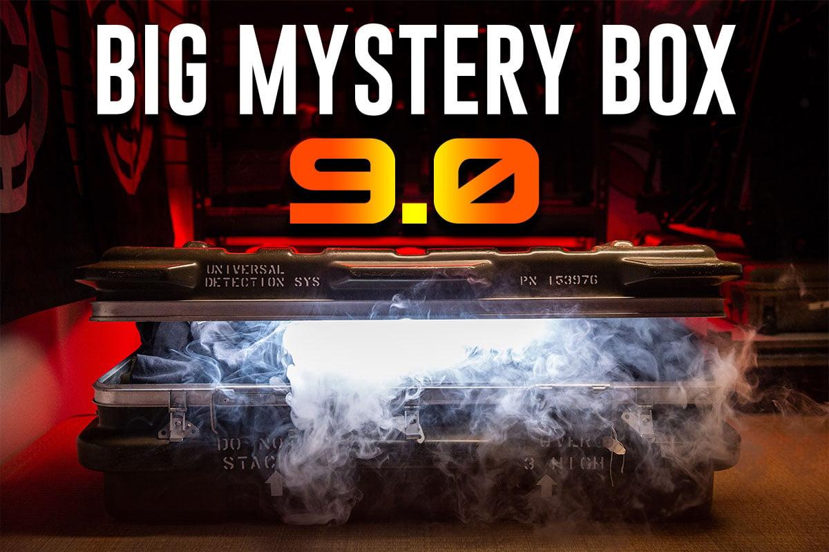 The Big Mystery Box 9 0 FT  Classic Army Amoeba Apex Elite Force Modify LCT  Krytac & Monster Box
