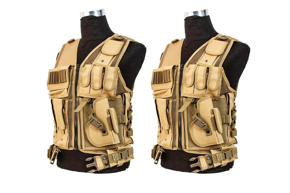 Hunting & Fishing Valken Tactical Cross Draw Vest with